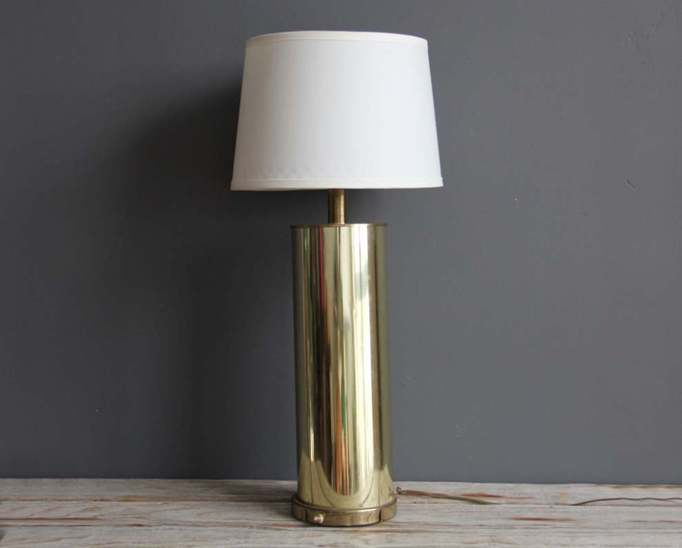 Image of: tall table lamp shades