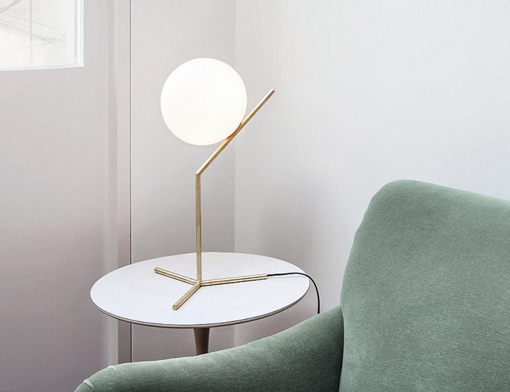 Image of: tall table lamp stand
