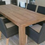 Teak Wood Table Long