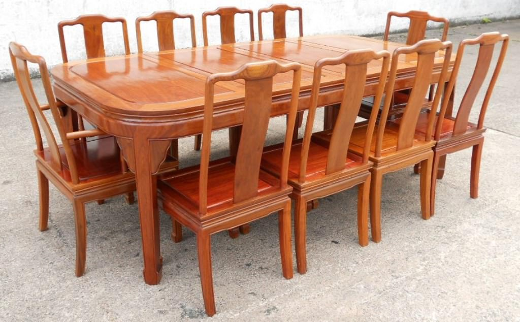 Picture of: teak wood table sets