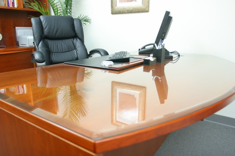 Image of: Top Glass Table Protector