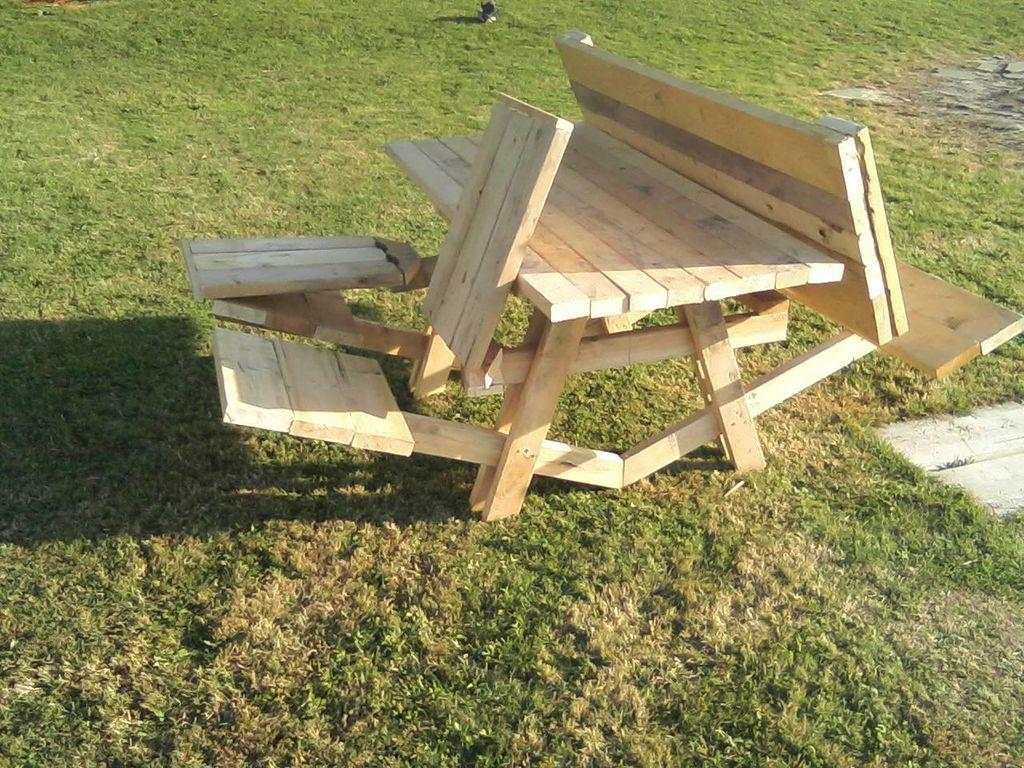 Picture of: Top Parts For Foldable Picnic Table