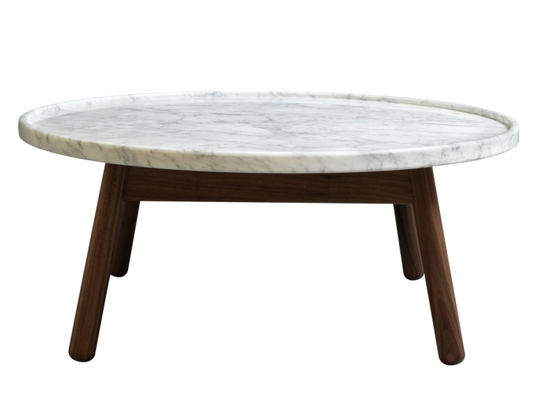 Image of: Top White Marble Coffee Table