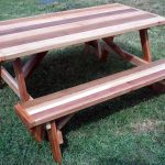 Traditional Wood Picnic Table Plans