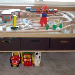 Train Play Table With Storage