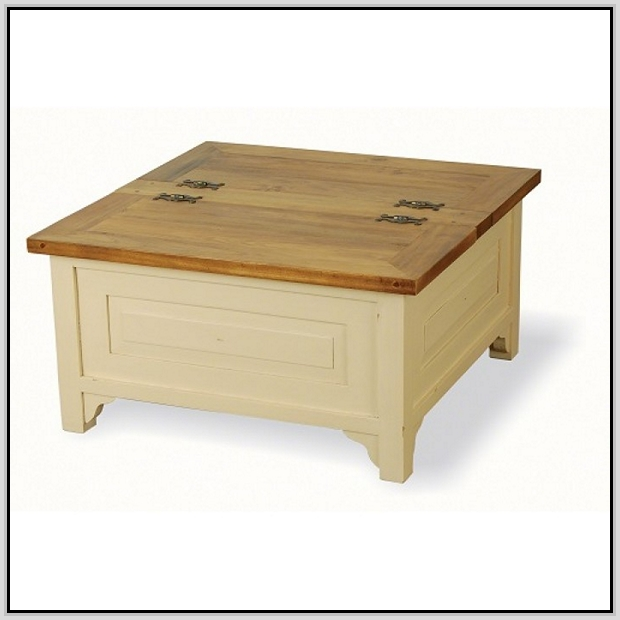 Trunk Coffee Table With Wheels