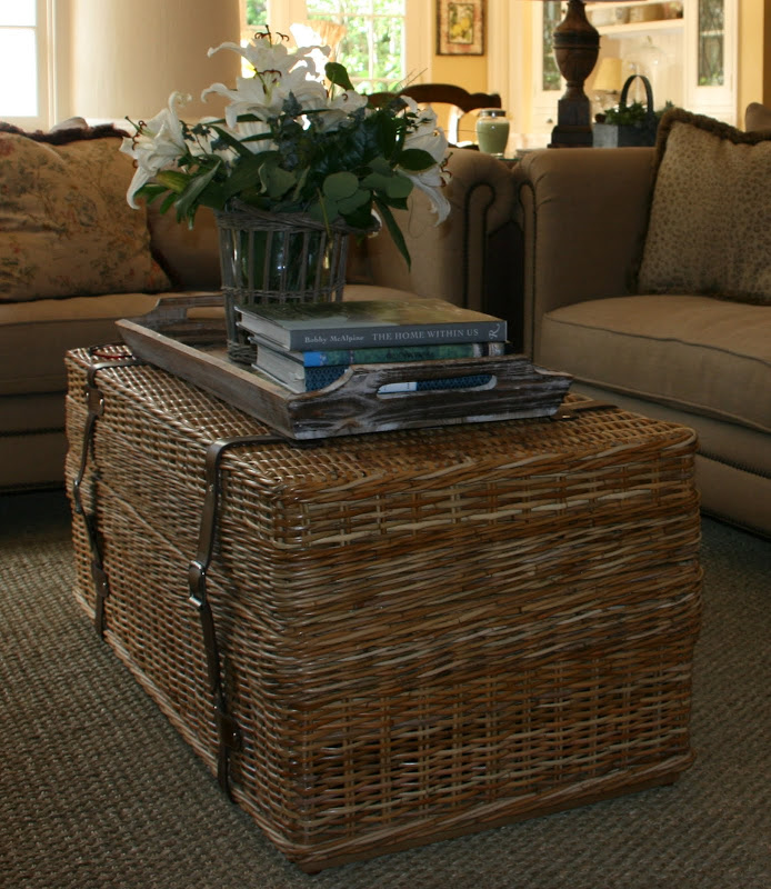 Image of: Trunk Style Coffee Tables