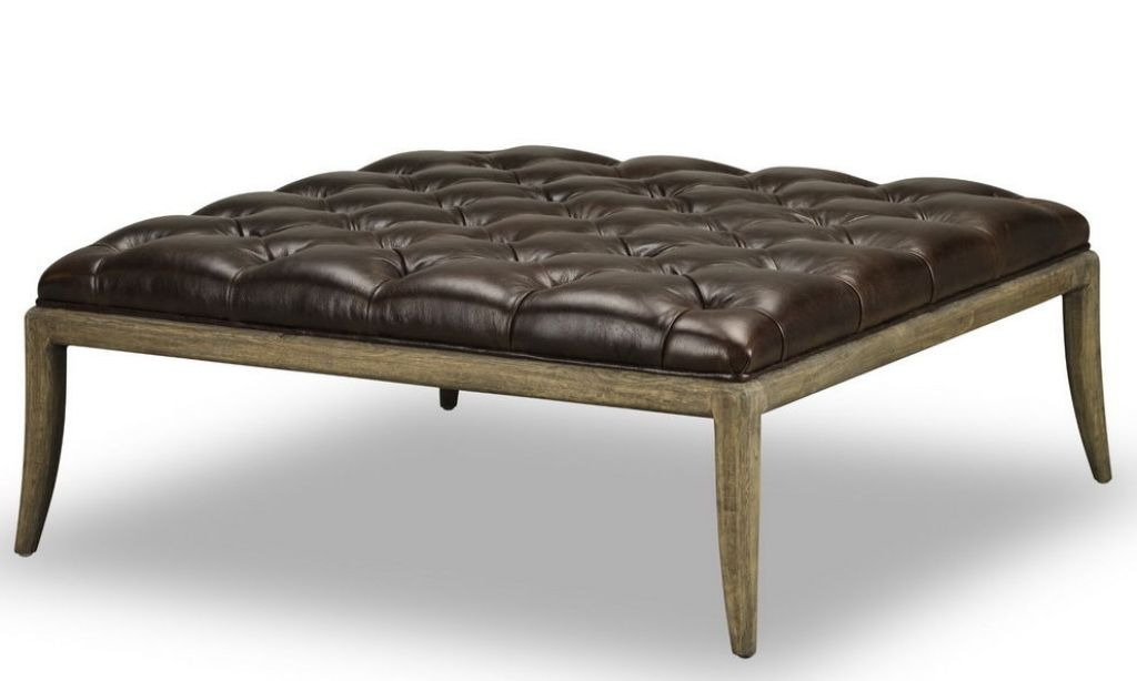Picture of: Tufted Ottoman Cocktail Table