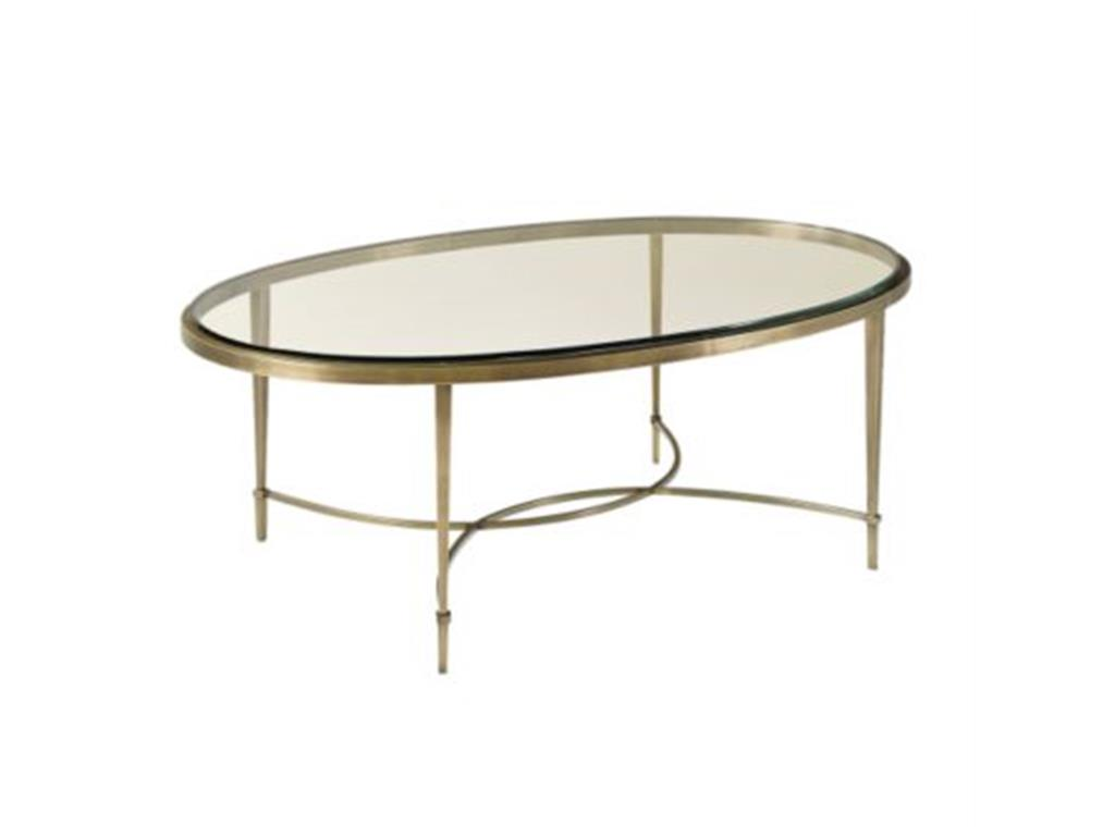 Picture of: Type Glass Oval Coffee Table