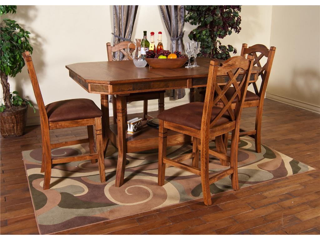Image of: Type Round Dining Table with Leaf