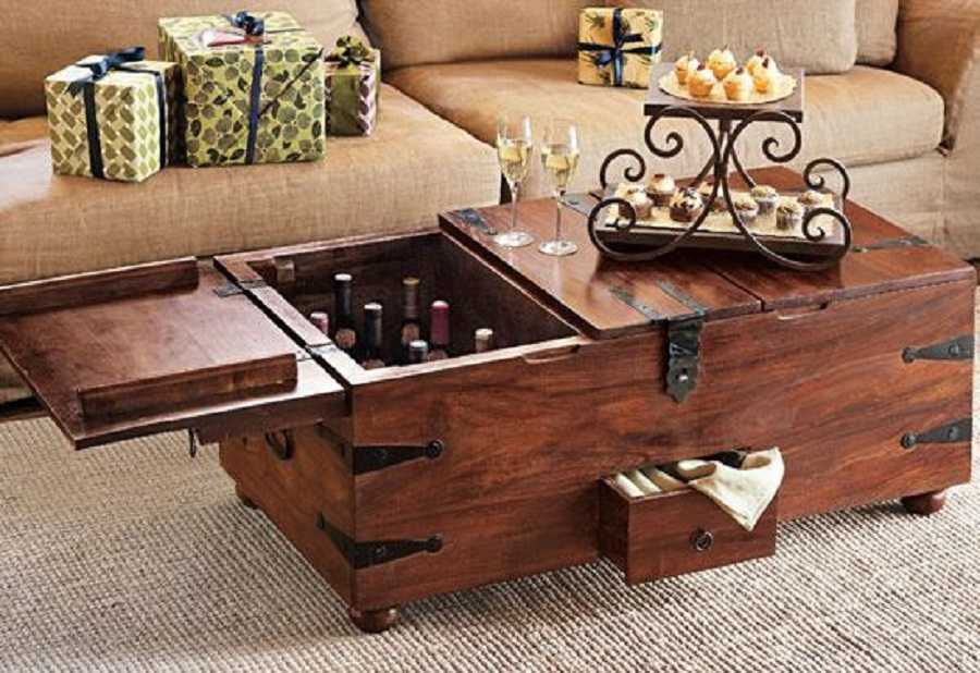 Picture of: Unique Coffee Table Trunks