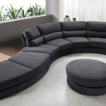 Unique Microfiber Sectional Sofa