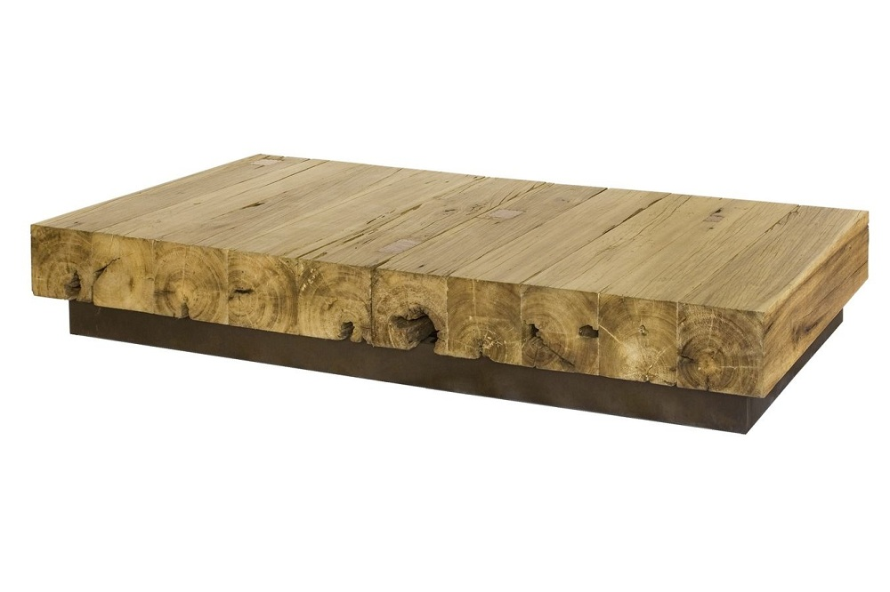 Picture of: Unique Reclaimed Wood Coffee Table