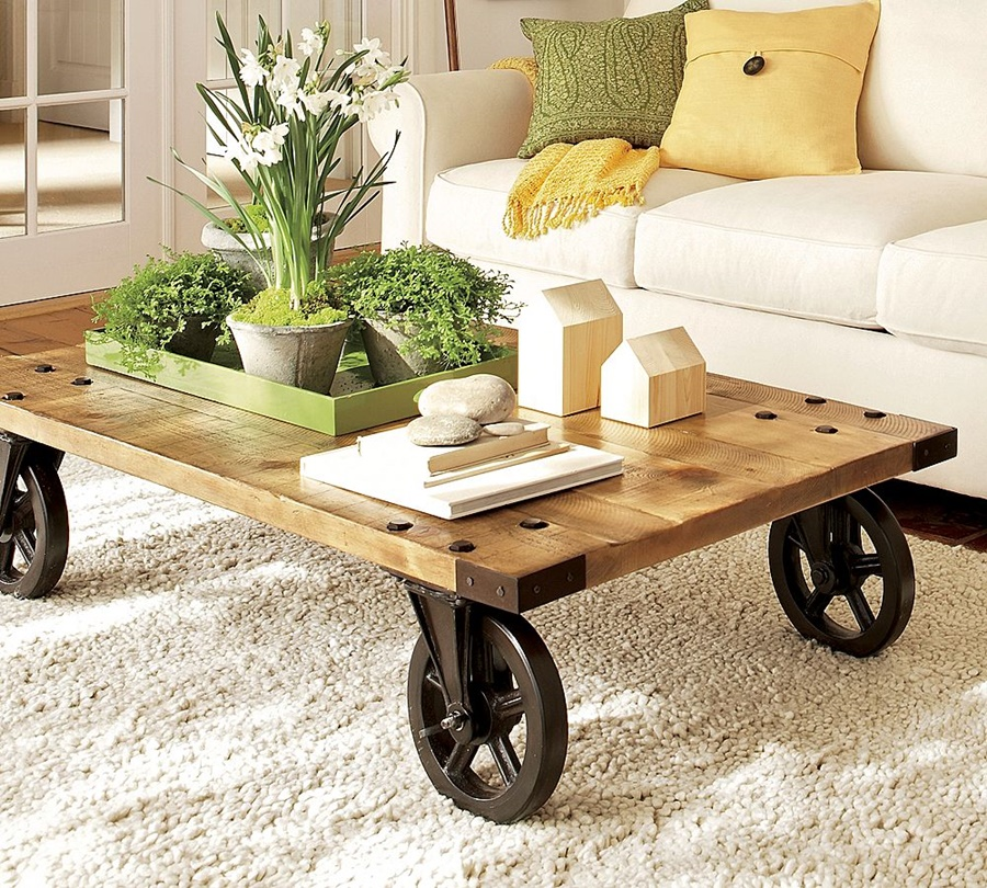 Image of: Unusual Coffee Tables Ideas
