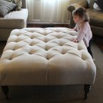 Upholstered Ottoman Coffee Table Top