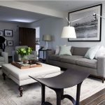 Upholstered ottoman Coffee Table with Top