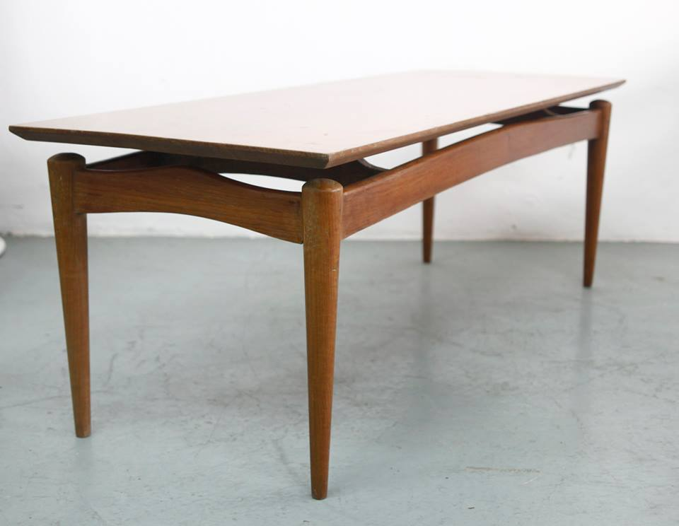 Image of: vintage mid century modern coffee table