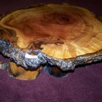 Vintage Natural Wood Coffee Table