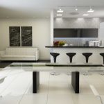White Calligaris Dining Table