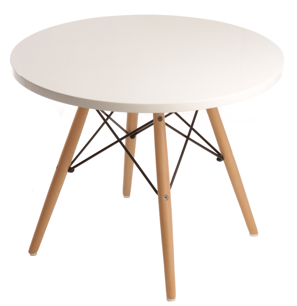 Image of: White Eames Coffee Table