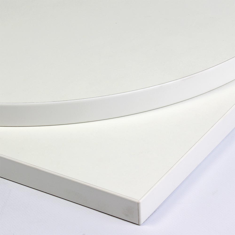 Image of: White Formica Table Tops