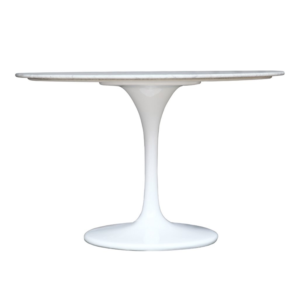 Picture of: White Tulip Table 60 Inch