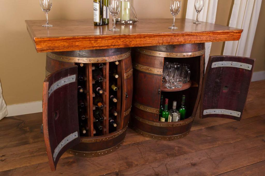 Picture of: Wine Barrel Table Base