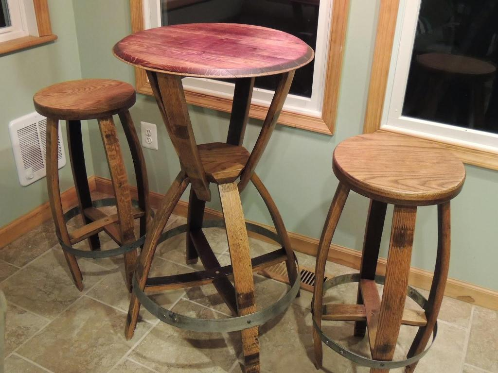 Wine Barrel Table Plans