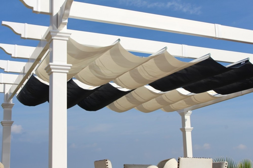 Picture of: Wonderful Retractable Pergola
