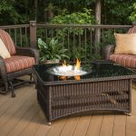 Wood Burning Fire Pit Table Modern