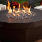 Wood Burning Fire Pit Table Round