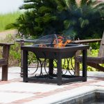 Wood Burning Fire Pit Table Style