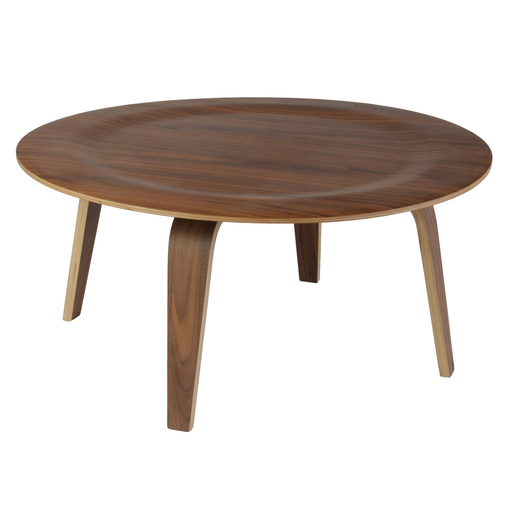 Image of: Wood Eames Coffee Table