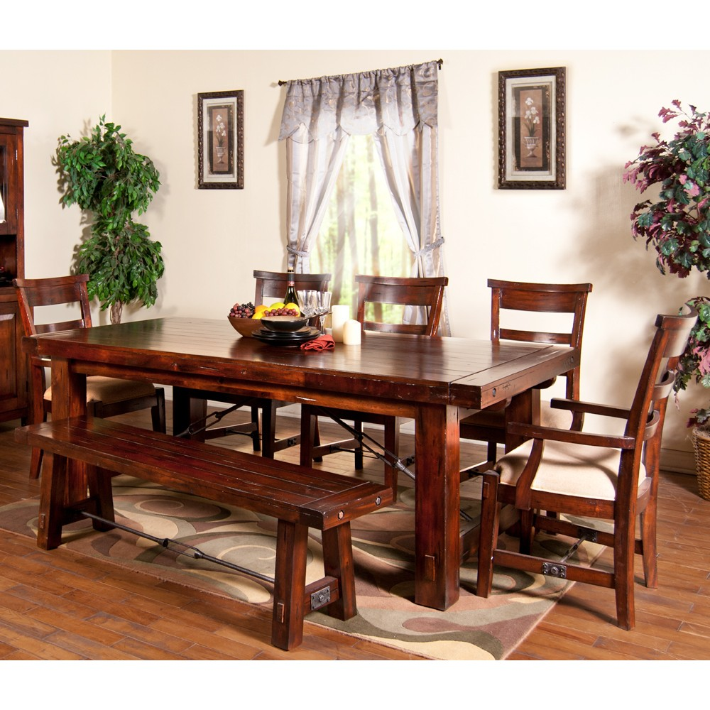 Wood Rectangle Dining Table