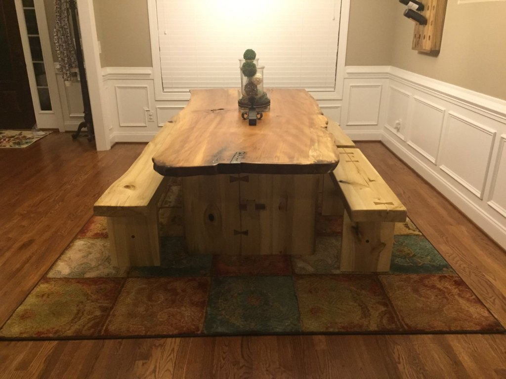 Wood Slab Dining Table Ideas