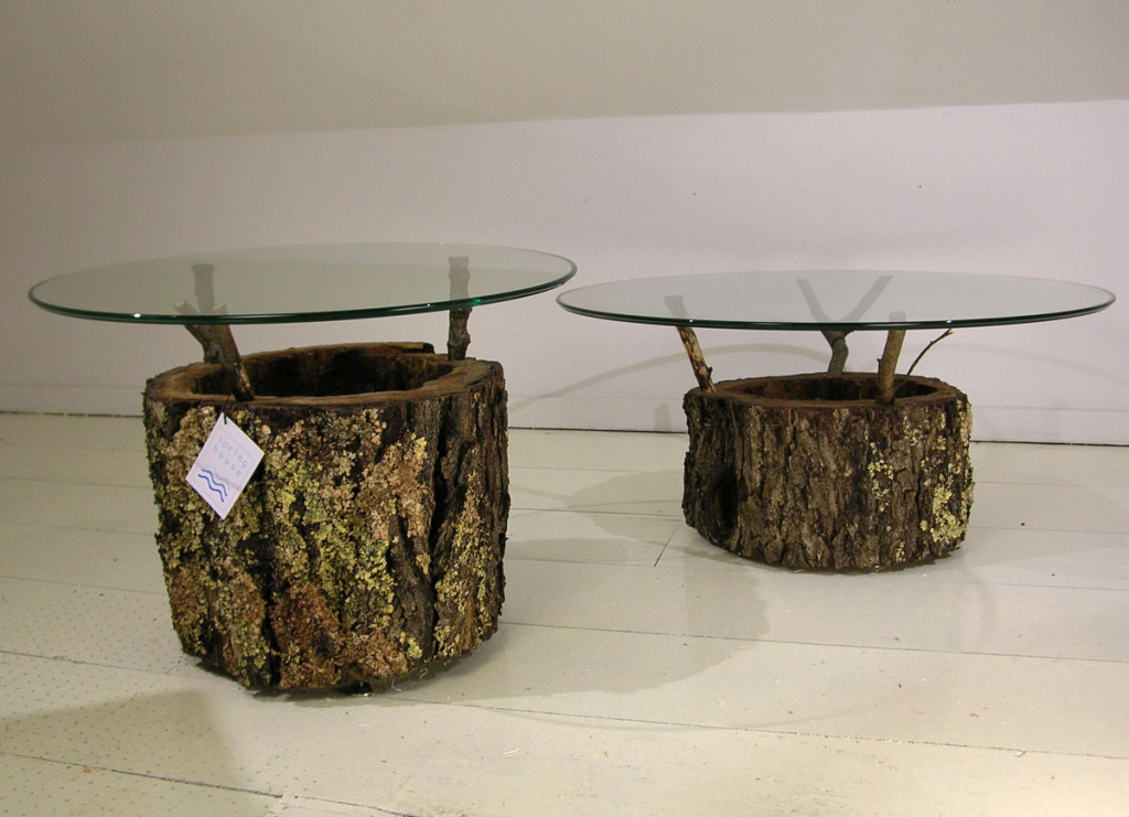 Picture of: Wood Stump Coffee Table Images