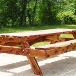 Wood Picnic Table Plans Picture