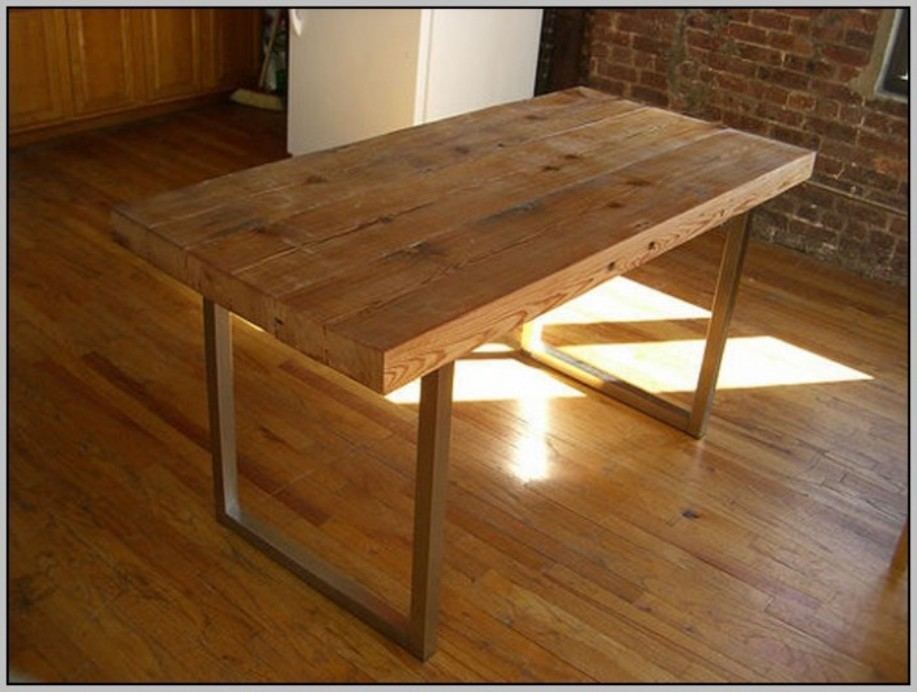 Image of: Wood table tops IKEA
