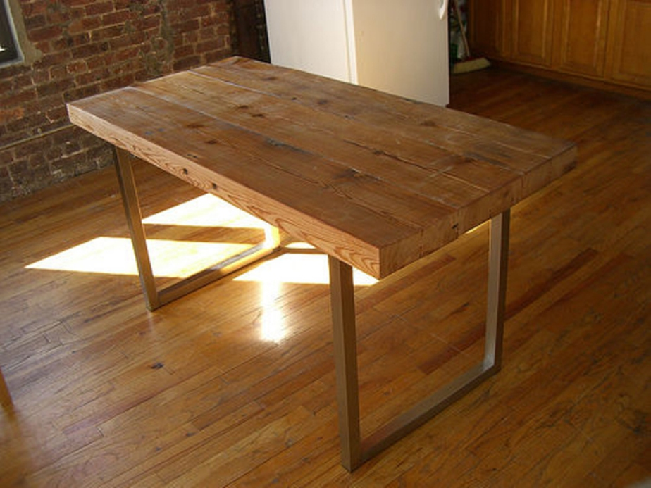 Image of: Wood table tops