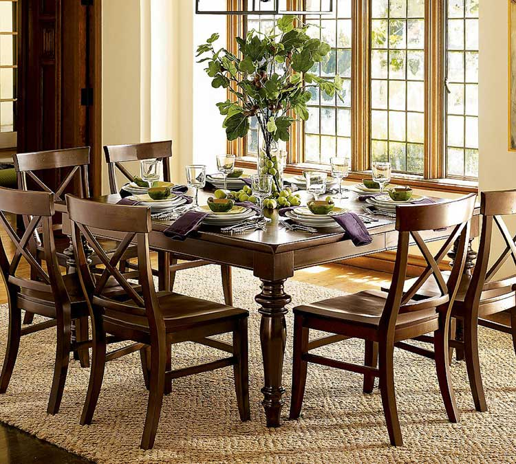 Image of: Wooden Centerpiece for Dining Room Table