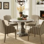 Wooden Round Pedestal Dining Room Table