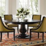 Wooden Round Pedestal Dining Table