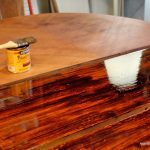Amusing How To Refinish Wood Table