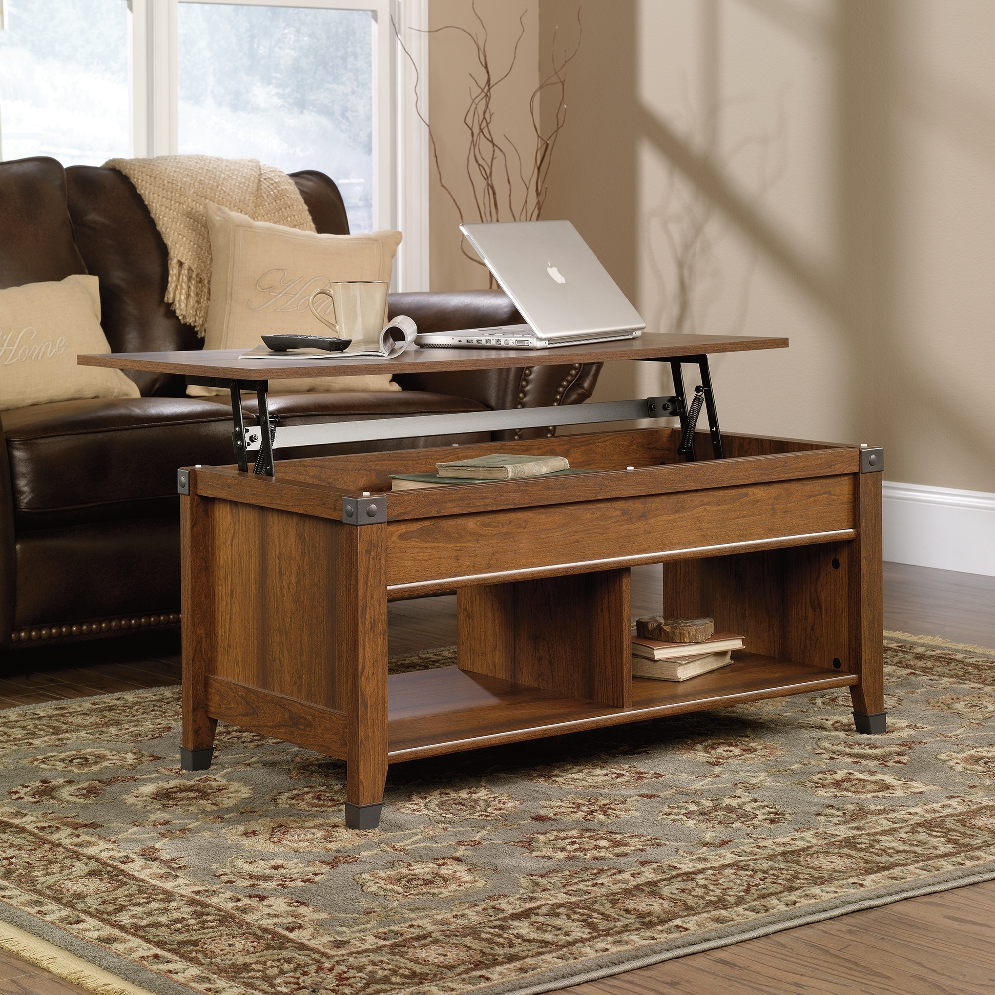 Picture of: Awesome Lift Top End Table