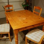 Beautiful How To Refinish Wood Table