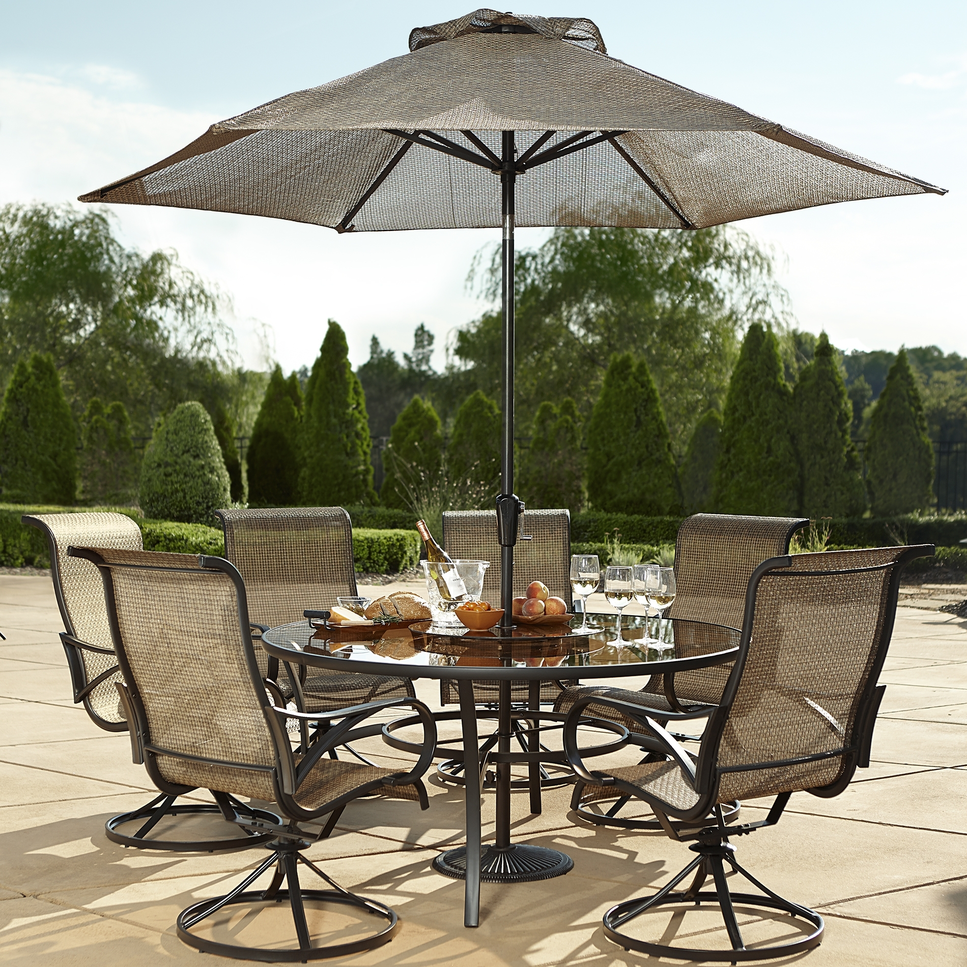 Best Of Round Patio Table Set Ideas