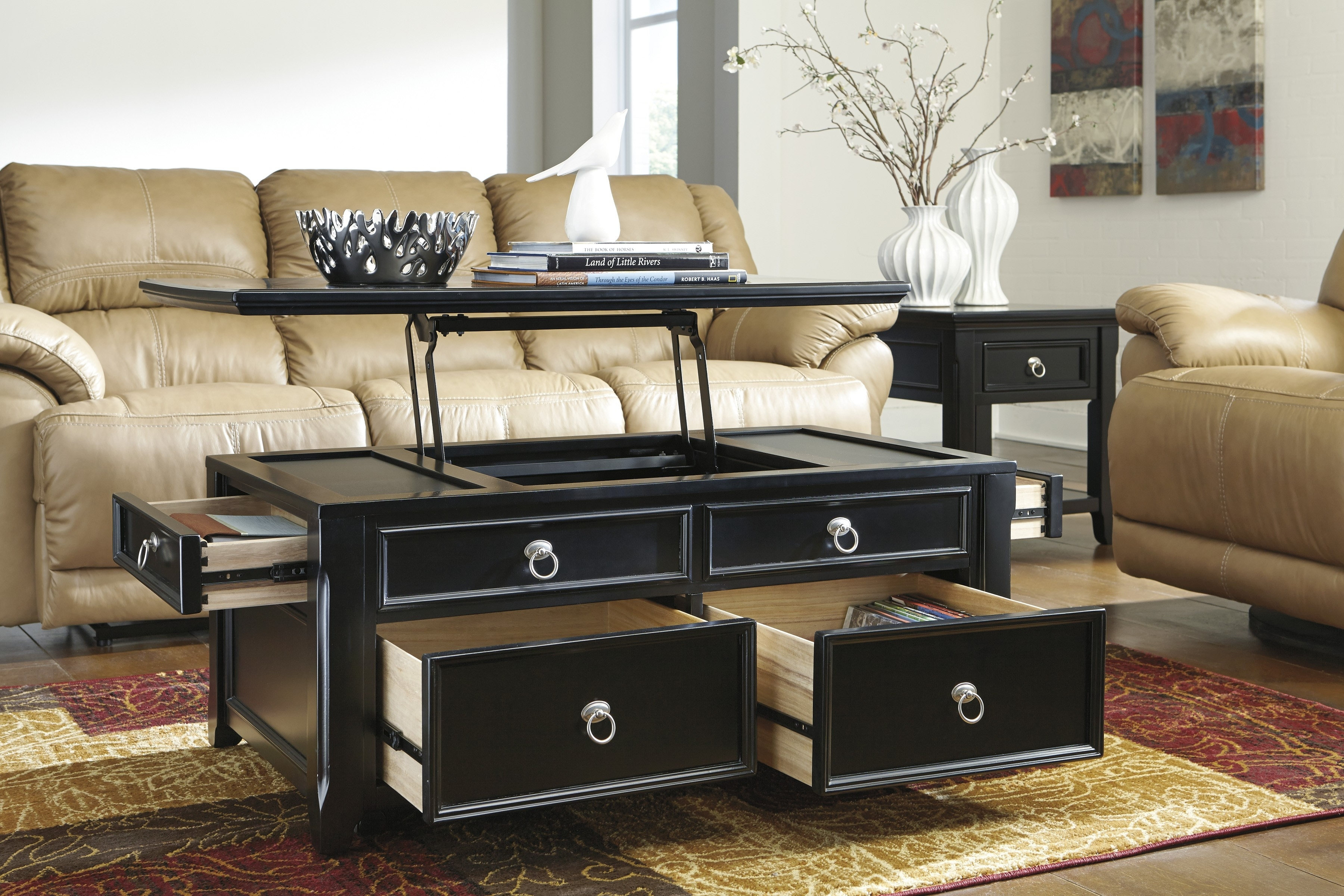 Picture of: Better Lift Top End Table