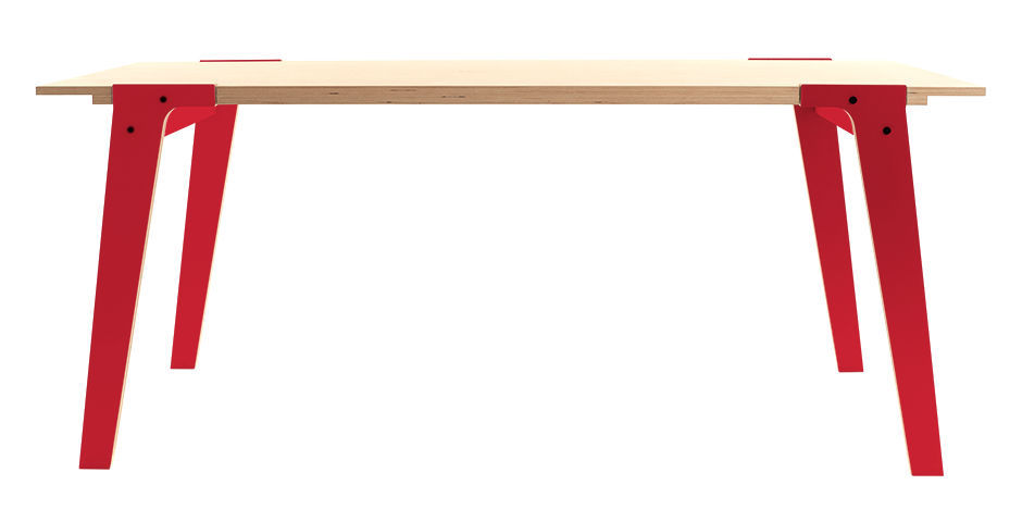 Image of: birch dining table color