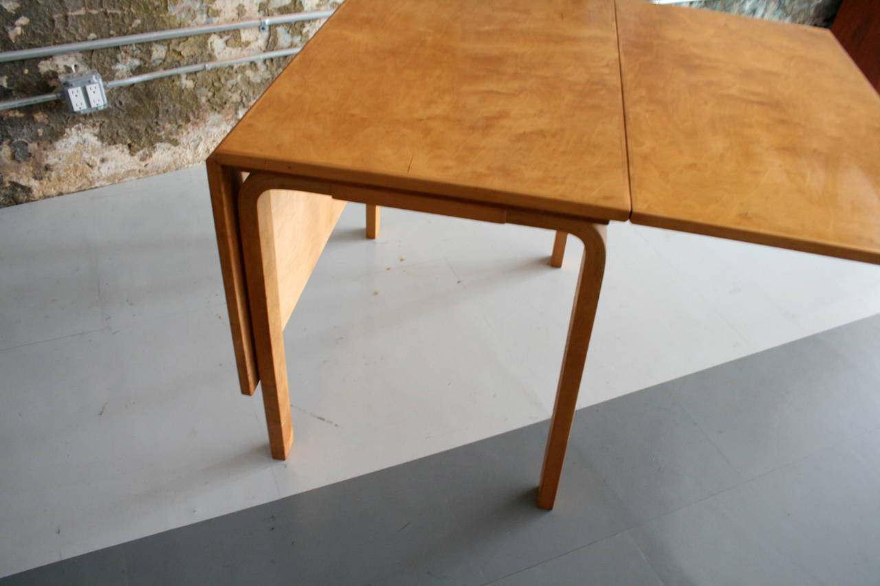 Image of: birch dining table