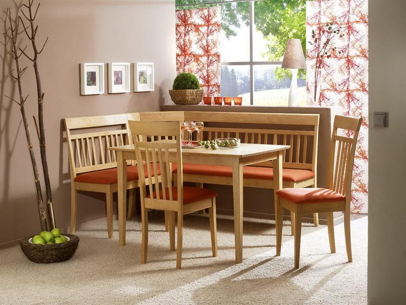 Image of: breakfast nook table image